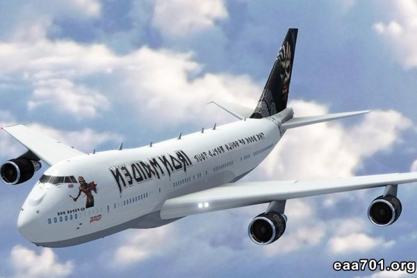 Iron maiden airplane photo air force one