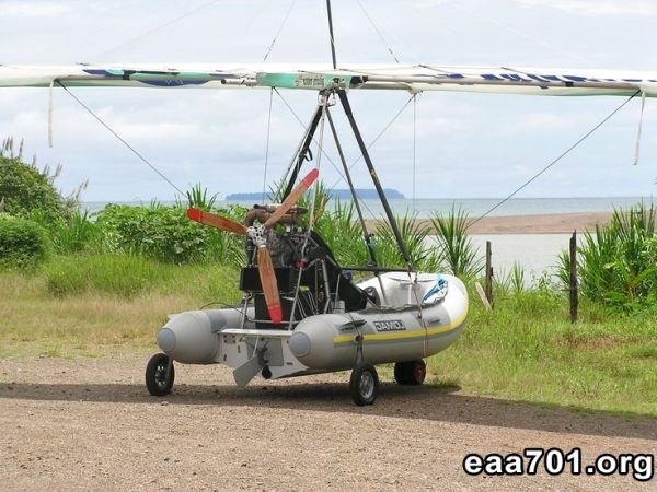 Motorized hang glider images