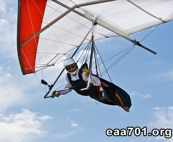 Photo of hang glider