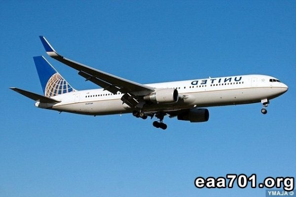 United airplane images