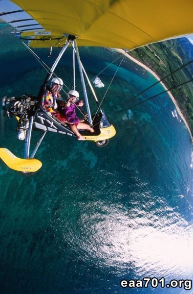 Hang glider photo captions