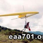 Hang glider photo collage