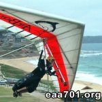 Hang glider photo de profil