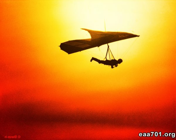 Hang glider photo edit