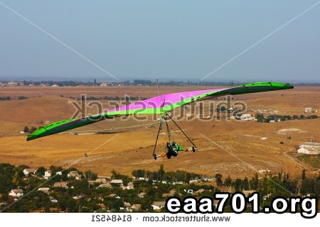 Hang glider photo finish