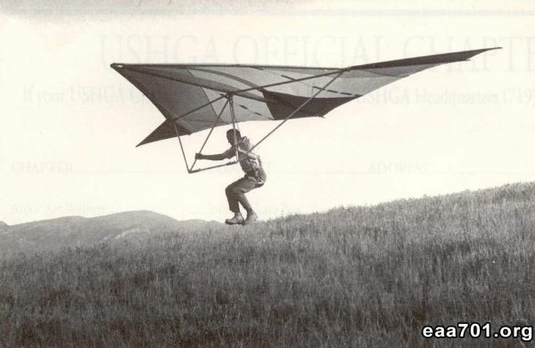 Hang glider photo holiday