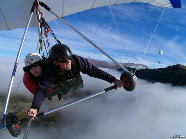 Hang glider photo keepsake