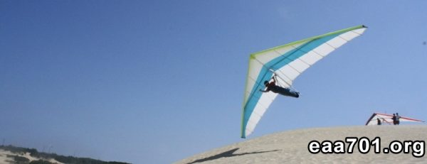 Hang glider photo ledge