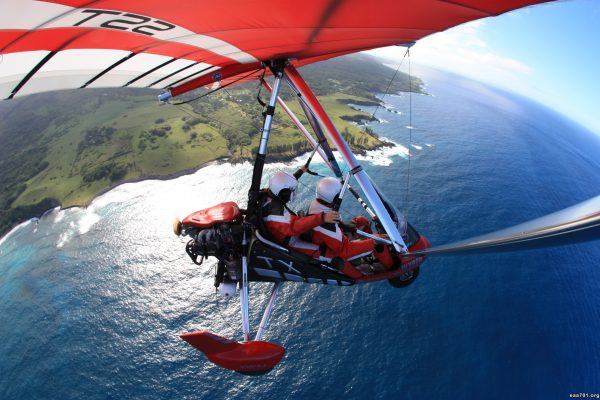 Hang glider photo letter