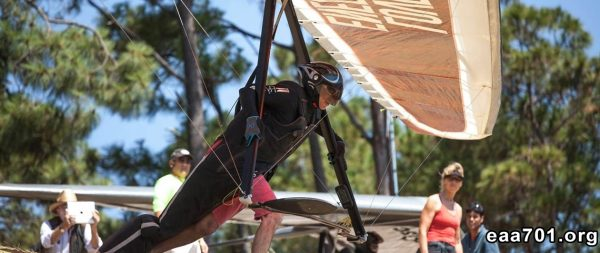 Hang glider photo maker