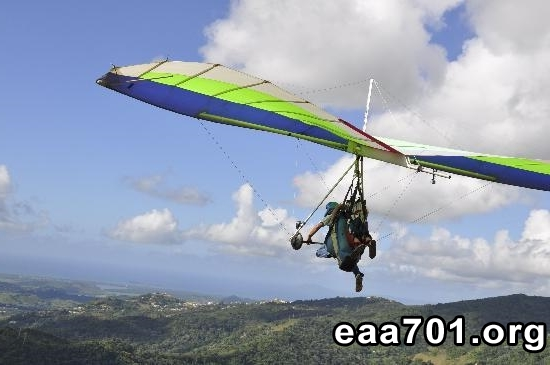 Hang glider photo monkey