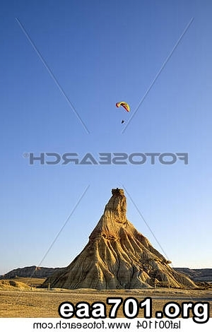 Hang glider photo nature