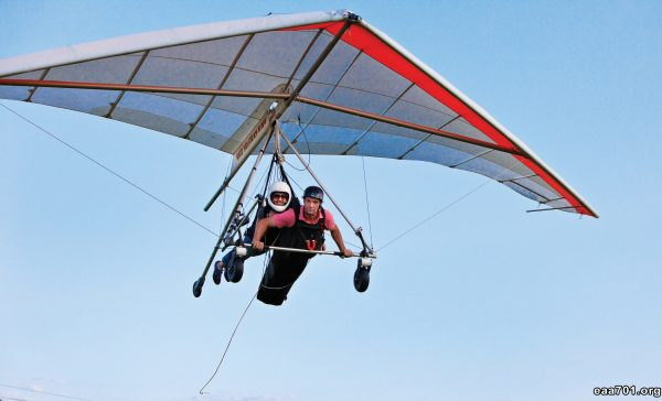 Hang glider photo processing