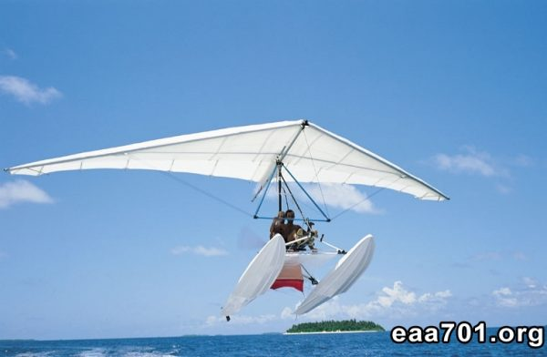 Hang glider photo profil