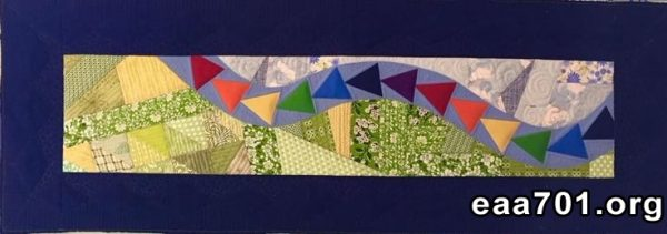Hang glider photo quilts