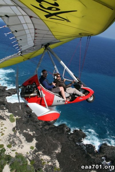 Hang glider photo quote