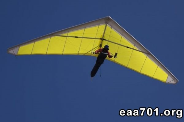 Hang glider photo restoration
