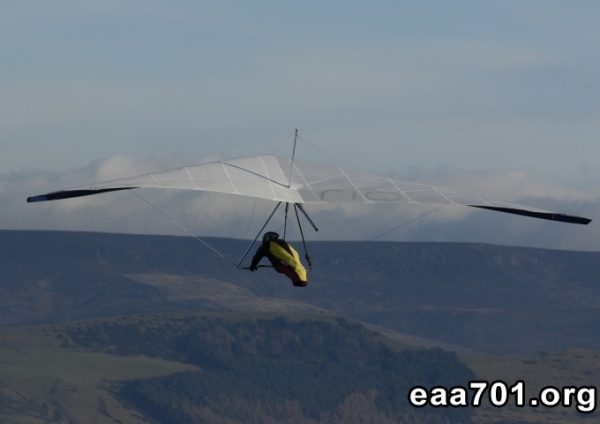 Hang glider photo retouching