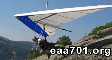Hang glider photo software