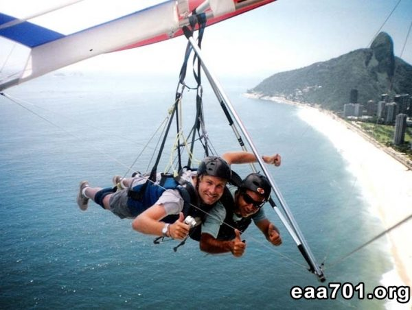 Hang glider photo transfer